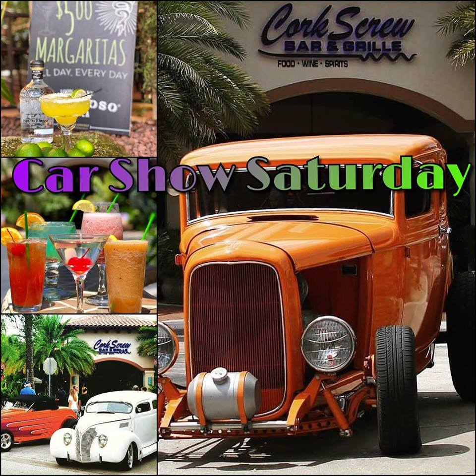 Car Show Our Pic The CorkScrew Bar And Grille In New Smyrna Beach - New smyrna car show