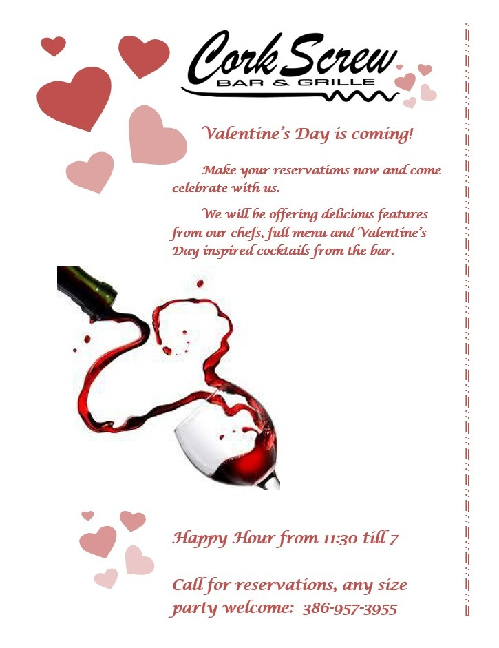 Valentine's Day at CorkScrew