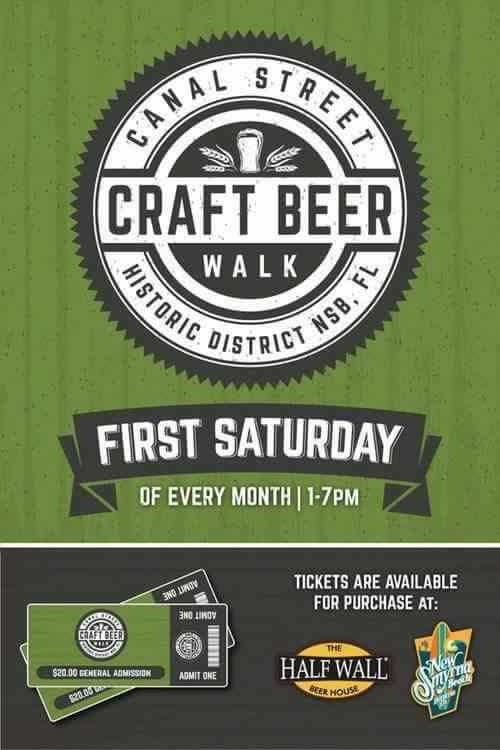 Beer Walk & Art Stroll - 1st Saturday of Month