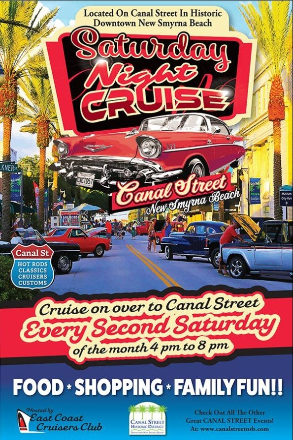 Canal Street Classic Cruise Car Show @ Historic Canal Street