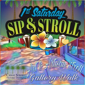 1st Saturday on Canal Street